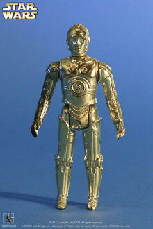 Retro Kenner 12 Inch Action Figure - Star Wars: See-Threepio (C-3PO)