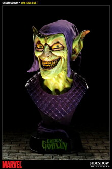 "Marvel - Life-size Bust: Green Goblin  From ""Spide-Man""(Back-order)"