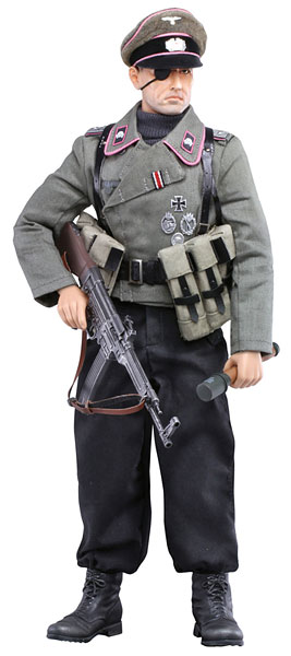 Action Figure 1/6 Kurokishi Monogatari - Ernst von Bauer Lieutenant Black Knight Regiment Tank Jaeger(Back-order)