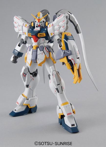 "MG 1/100 Gundam Sandrock EW Plastic Model From ""Gundam Wing Endless Waltz""(Released)(MG 1/100 ガンダムサンドロック EW プラモデル 『新機動戦記ガンダムW エンドレスワルツ』より)"