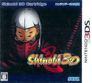 3DS SHINOBI 3D(Back-order)(3DS Shinobi 3D)