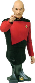 Masterpiece Collection Maxi Bust - Star Trek: Patrick Stewart AS Jean Luc Picard