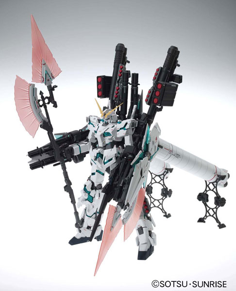 MG 1/100 RX-0 Full Armor Unicorn Gundam Var.Ka Plastic Model from Gundam UC (Unicorn)