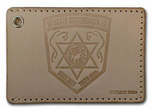 Character Pass Case Silent Mobius - AMP Emblem(Back-order)