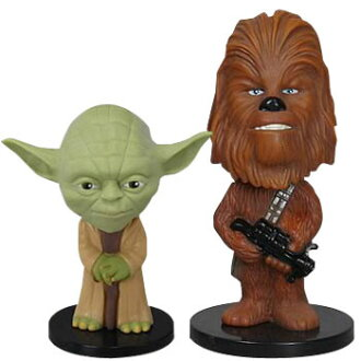 Wacky Wobbler Ultra Mini - Star Wars: Yoda & Chewbacca