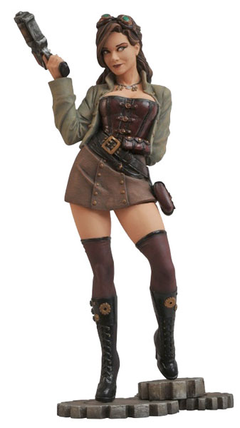 Femme Fatales PVC Statue Steam Punk - Rexy(Back-order)