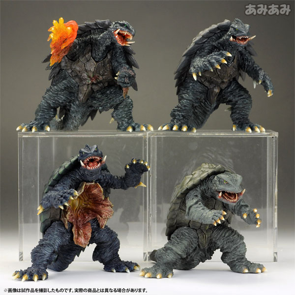 Trading Figure Gekizou Series -Heisei Gamera Arc- BOX