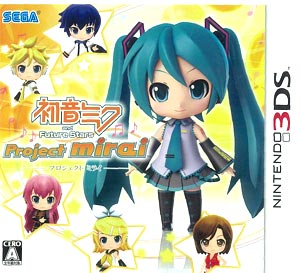 3DS Miku Hatsune and Future Stars Project mirai Regular Edition(Back-order)