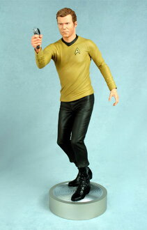 "STAR TREK 1/4 Scale statue Kirk ""Beam me up Scotty"" !(Back-order)"