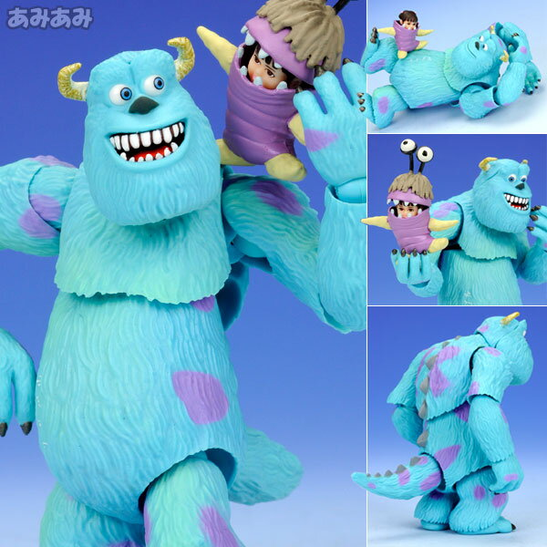 "Revoltech Pixar Figure Collection No.006 Sulley  From ""Monsters Inc."""