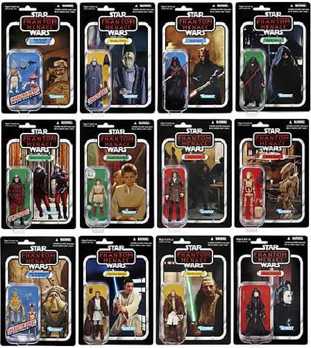 Star Wars 2012 Vintage Figure Wave 1 Assorted Carton(Back-order)(Single Shipment)