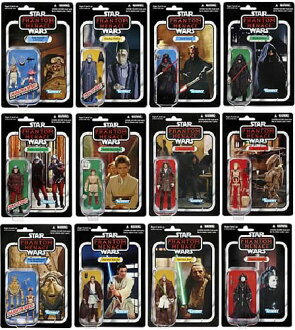 Star Wars 2012 Vintage Figure Wave 1 Assorted Carton (Single Shipment)(Back-order)