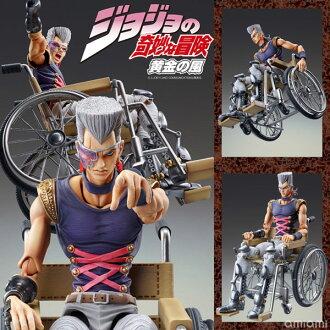 Super Action Statue - JoJo's Bizarre Adventure Part.V #41 J. P. Polnareff (Hirohiko Araki Specified Color) Complete Figure(Back-order)