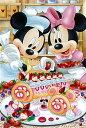 ジグソー パズルプチ ディズニー ベリーベリー・ロールケーキ 204ピース(98-579)[やのまん]《取り寄せ※暫定》