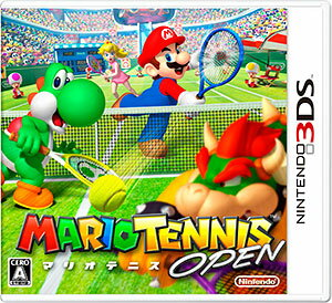 3DS MARIO TENNIS OPEN(Released)(3DS MARIO TENNIS OPEN(マリオテニス オープン))
