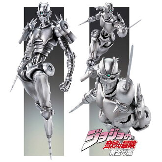 Super Action Statue - JoJo's Bizarre Adventure Part.V #42 The Silver Chariot Complete Figure (Hirohiko Araki Specified Color)(Released)(超像可動 ジョジョの奇妙な冒険 第五部 42.シルバー・チャリオッツ 完成品フィギュア)