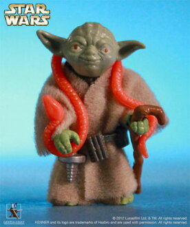 Retro Kenner 12 Inch Action Figure - Star Wars: Yoda (Empire Strikes Back)