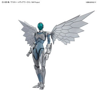 Accel World - Silver Crow Plastic Model