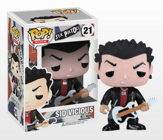 POP! Rocks Series - Sex Pistols Sid Vicious