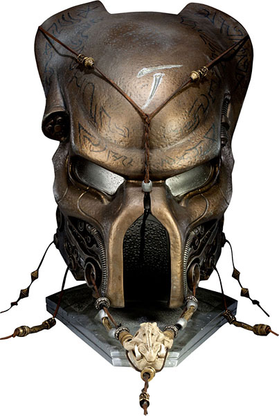 AVP 1/1 Scale Prop Replica Ceremonial Elder Predator Mask