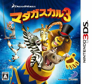 3DS Madagascar3(Back-order)(3DS マダガスカル3)