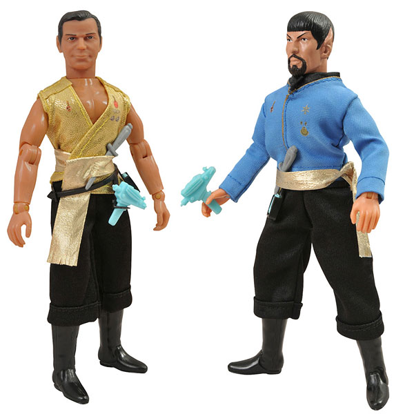 Star Trek/ TOS Retro Action Figure - Kirk & Spock (Mirror Mirror Edition) Set