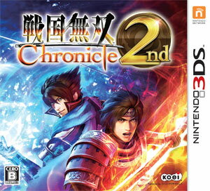 3DS Samurai Warriors Chronicle 2nd(Back-order)