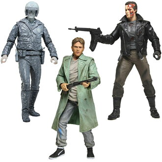 Terminator Collection 7 Inch Action Figure Series 3 - 3 Type Set