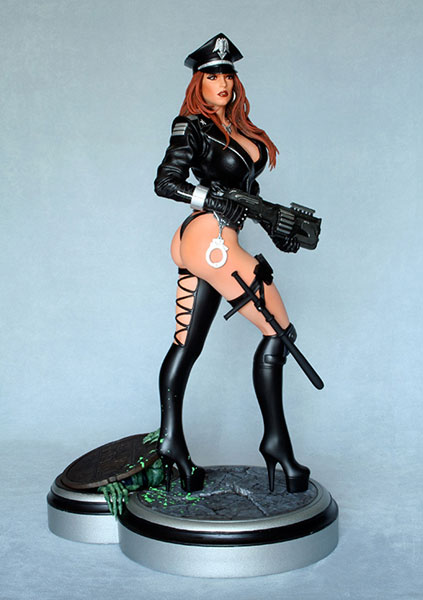 HEAVY METAL 1/4 Scale Statue - Cybercop Single (Single Shipment)