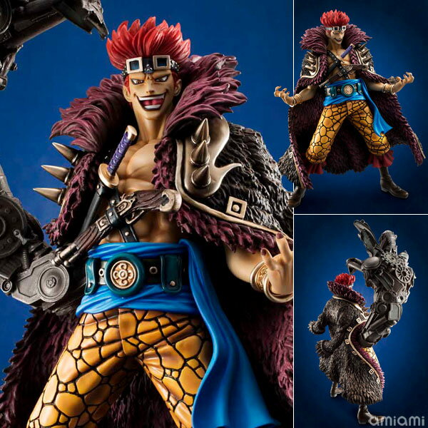 "Excellent Model Portrait.Of.Pirates ONE PIECE ""NEO-MAXIMUM"" Eustass ""Captain"" Kid Complete Figure(Released)"