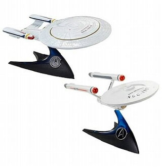 Hot Wheels/ Star Trek 1/50 Series 1 999A: 6 Type Set