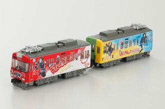 B-Train Shorty Keihan Type 600 K-On! (Wrapped Train) 2 Cars Set(Back-order)