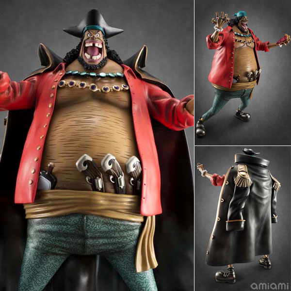 Excellent Model Portrait.Of.Pirates ONE PIECE NEO-EX - Blackbeard Marshall D. Teach Ver.1.5 Complete Figure(Released)(エクセレントモデル Portrait.Of.Pirates ワンピース NEO-EX 黒ひげ マーシャル・D・ティーチ Ver.1.5 完成品フィギュア)