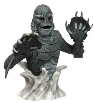 Universal Monsters - Bank: The Creature From The Black Lagoon (Black & White Edition)