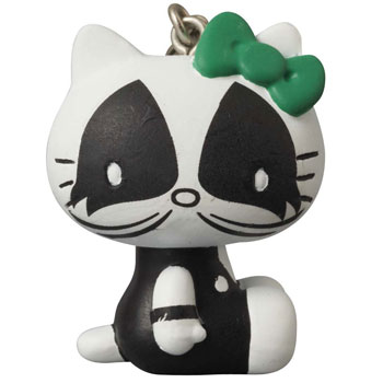 Ultra Detail Figure KISS x Hello Kitty - Keychain: THE CATMAN(Back-order)