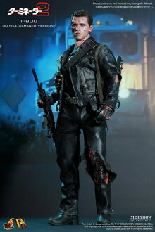 Movie Masterpiece DX Terminator 2 1/6 Scale Figure T-800 Battle Damaged Version [Possible Delay]