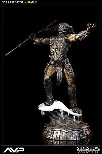 AVP Statue Scar Predator (Single Shipment)