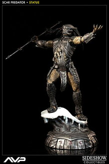 AVP Statue Scar Predator (Single Shipment)