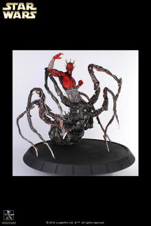 Star Wars - Statue: Darth Maul Spider