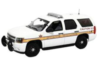 """ファーストレスポンス ダイキャスト製 1/43 Chevy Tahoe Police """"Illinois State Police""""[ファーストレスポンス]《取り寄せ※暫定》(First Response Diecast Model 1/43 Chevy Tahoe Police """"Illinois State Police""""(Back-order))"""