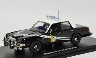 """ファーストレスポンス ダイキャスト製 1/43 1985 Dodge Diplomat Police """"Idaho State Police""""[ファーストレスポンス]《取り寄せ※暫定》(First Response Diecast Model 1/43 1985 Dodge Diplomat Police """"Idaho State Police""""(Back-order))"""
