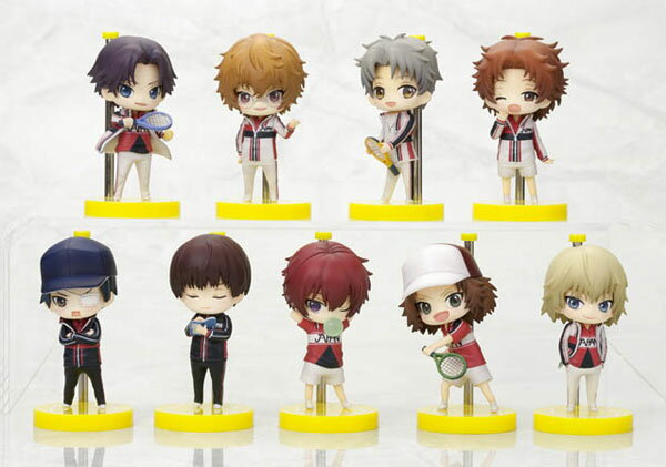 One Coin Grande Figure Collection - The New Prince of Tennis The Second Game BOX