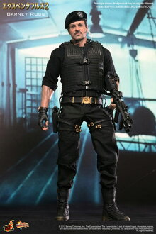 Movie Masterpiece Expendables 2 1/6 Scale Figure - Barney Ross
