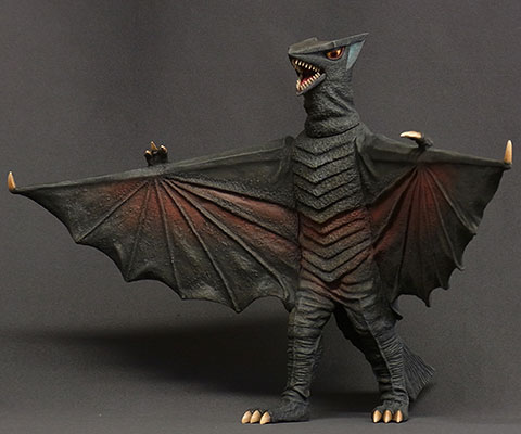 Daikaiju Series Daiei Tokusatsu Arc - Gyaos 1967 Complete Figure (Partial Assembly Required)
