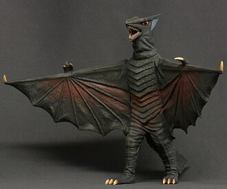 Daikaiju Series Daiei Tokusatsu Arc - Gyaos 1967 Complete Figure (Partial Assembly Required)(Back-order)