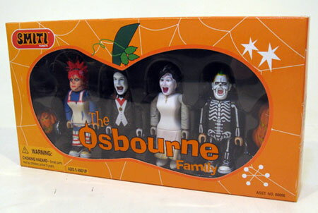 The Osbournes Family Block Figure(Back-order)