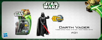 Star Wars Hasbro Action Figure 3.75 Inch Movie Heroes 2013 Edition #01 Darth Vader(Released)