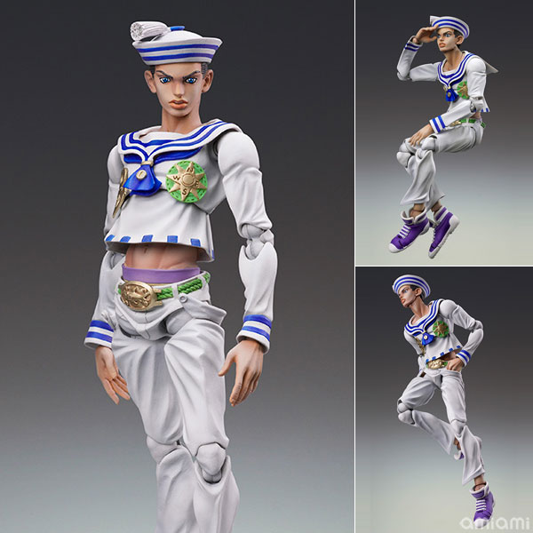 Super Action Statue - JoJo's Bizarre Adventure Part.VIII #53 Josuke Higashikata (Hirohiko Araki Specified Color)(Released)(超像可動 ジョジョの奇妙な冒険 Part8-53.東方定助 (荒木飛呂彦指定カラー))