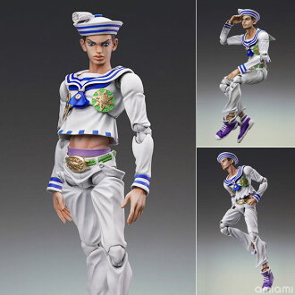 Super Action Statue - JoJo's Bizarre Adventure Part.VIII #53 Josuke Higashikata (Hirohiko Araki Specified Color)(Released)