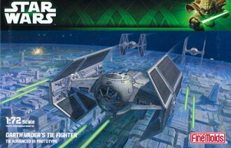 Star Wars Plastic Model 1/72 Darth Vader's TIE Fighter